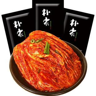 朴家 泡菜辣白菜450g袋+萝卜条