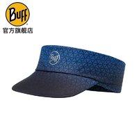 BUFF跑步防曬帽男空頂帽女戶外遮陽帽子登山太陽帽釣魚馬拉松運動裝備 119485.715-競速藍