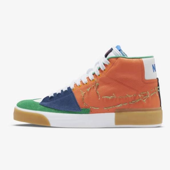 1日9点 : Nike SB Zoom Blazer Mid Edge L 男女滑板鞋