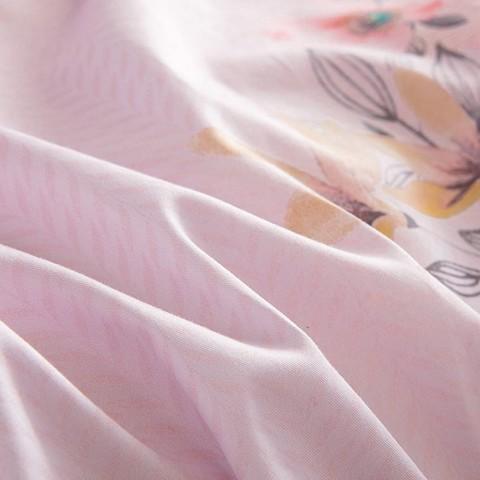 优雅柔美全棉斜纹被套床上用品四件套