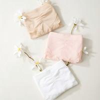 EMXEE 嫚熙   孕期无痕莫代尔怀孕专用内裤 3条装