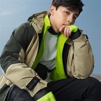 adidas 阿迪达斯 GF4013 男款连帽夹克