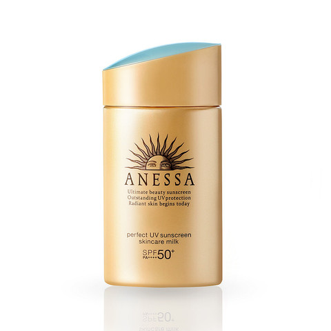 有券的上:ANESSA 安热沙 金瓶防晒霜 2020年版 60ml *3件