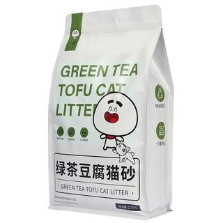 小囧 绿茶豆腐猫砂 2.75kg