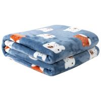 Wellber 威尔贝鲁 婴幼儿毛毯 140*110cm +凑单品
