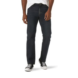 Wrangler 威格 Authentics 男式经典直筒牛仔裤