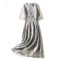 拉夏贝尔旗下新款女款短袖连衣裙