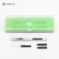 KACO 文采 SKY百锋钢笔 透明 EF尖 +凑单品