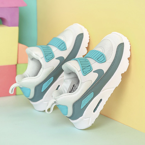Nike/耐克男女童婴童鞋新款Air Max气垫运动鞋缓震休闲舒适跑步一脚穿休闲鞋881924-006