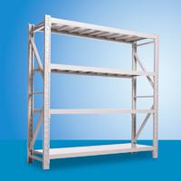 易存輕型貨架倉儲家用層架收納架子置物架儲物架白色120*40*200四層主架