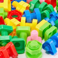 DALA 达拉 宝宝拧螺丝钉玩具 16对