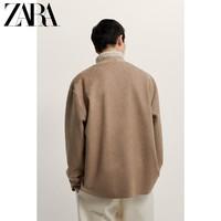 ZARA新款 男装  仿麂皮反绒西装外套 03548640711