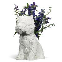 HOWstore Jeff Koons 限量版陶瓷小狗花器
