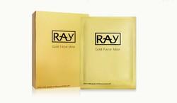 泰国RAY妆蕾蚕丝面膜 粉色金色银色 补水提亮美白 10片/盒