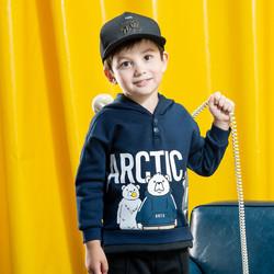 ANTA/安踏 小童春季新款连帽运动上衣