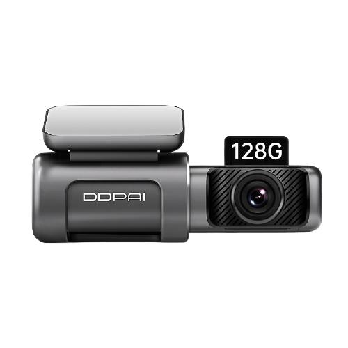 京东PLUS会员 : DDPAI 盯盯拍 mini5 4K行车记录仪 128G版