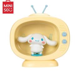 名创优品(MINISO)Cinnamoroll电视机小夜灯 卧室床头书桌灯LED柔和白光创意摆件礼品 *4件