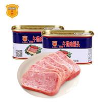 MALING  梅林 午餐肉罐头 火锅必备 198g*2罐 *5件