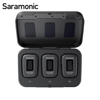 枫笛(Saramonic)麦克风 BLink500Pro一拖二迷你无线麦克风小蜜蜂 相机手机直播采访视频拍摄收录音无线话筒