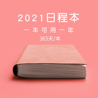 白金丽人 P-141 2021年日程365天A5笔记本 多款可选