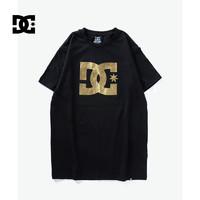 DC SHOES 5126J601 男款经典纯棉圆领运动休闲T恤