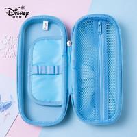 迪士尼笔袋女小学生冰雪奇缘艾莎文具盒儿童大容量铅笔盒硬壳笔袋