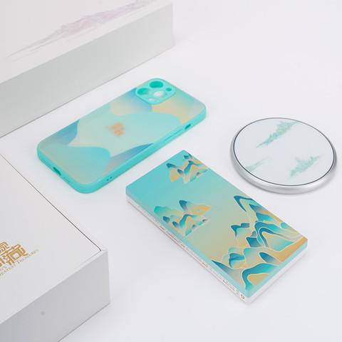 Apple iPhone 12 Pro 256G 海蓝色 5G全网通手机 国家宝藏定制礼盒套装