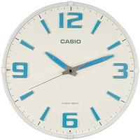 CASIO 卡西欧 挂钟 电波蓄光指针 白色IQ-1009J-7JF