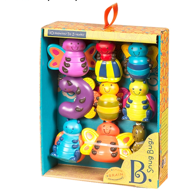 B.toys 比乐 儿童软积木玩偶