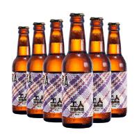 京A 工人 淡色啤酒 330ml*6瓶
