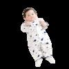 Purcotton 全棉时代 800-007536 婴儿纱布款连体衣