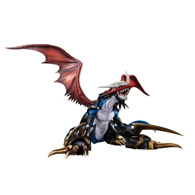 MegaHouse G.E.M.《数码宝贝》 帝皇龙甲兽:龙形态 手办