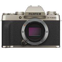 FUJIFILM 富士 X-T200 APS-C画幅微单单机身相机 香槟金(15-45mm、F3.5-5.6)