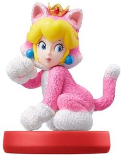 Nintendo Switch amiibo 猫马力欧和猫桃花公主