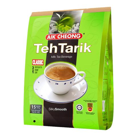 马来西亚进口 益昌速溶香滑奶茶粉 南洋风味 冲调饮品 15包600g *5件