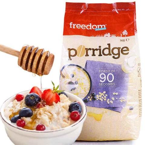 Freedom澳菲顿进口原味全麦燕麦片1kg