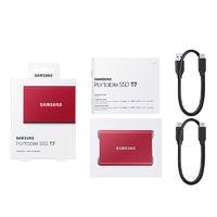 SAMSUNG 三星 T7 移动固态硬盘 PSSD 500GB