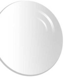 essilor 依视路 钻晶全视线系列 1.502折射率 第七代 球面镜片 1片装 灰变定制片
