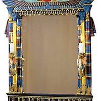 Design Toscano Wadjet 埃及壁镜