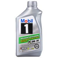 PLUS会员:Mobil 美孚 美孚1号 0W-30 SN级 全合成机油 1Qt