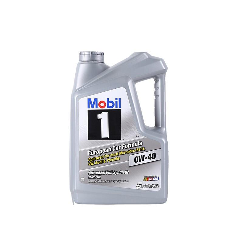 Mobil 美孚 美孚1号 0W-40 SN级 全合成机油 5L