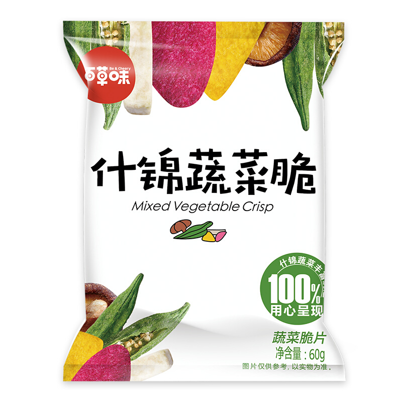 Be&Cheery 百草味 什锦蔬菜脆 60g