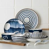 尚行知是 日式简约陶瓷餐具套装 16件套