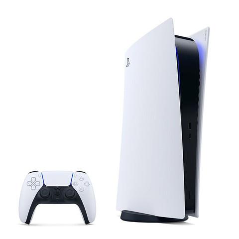 索尼 港版PlayStation 5数字版主机 无光驱