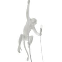 SELETTI 瑟雷提 14881 創意猴子裝飾壁燈 懸吊款 白色