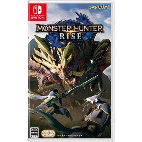 Nintendo 任天堂 Switch游戏卡带《怪物猎人:崛起》中文 预售