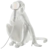 SELETTI 瑟雷提 14881 創意猴子裝飾壁燈 坐立款 白色