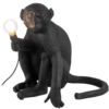 SELETTI 瑟雷提 14881 创意猴子装饰壁灯 坐立款 黑色