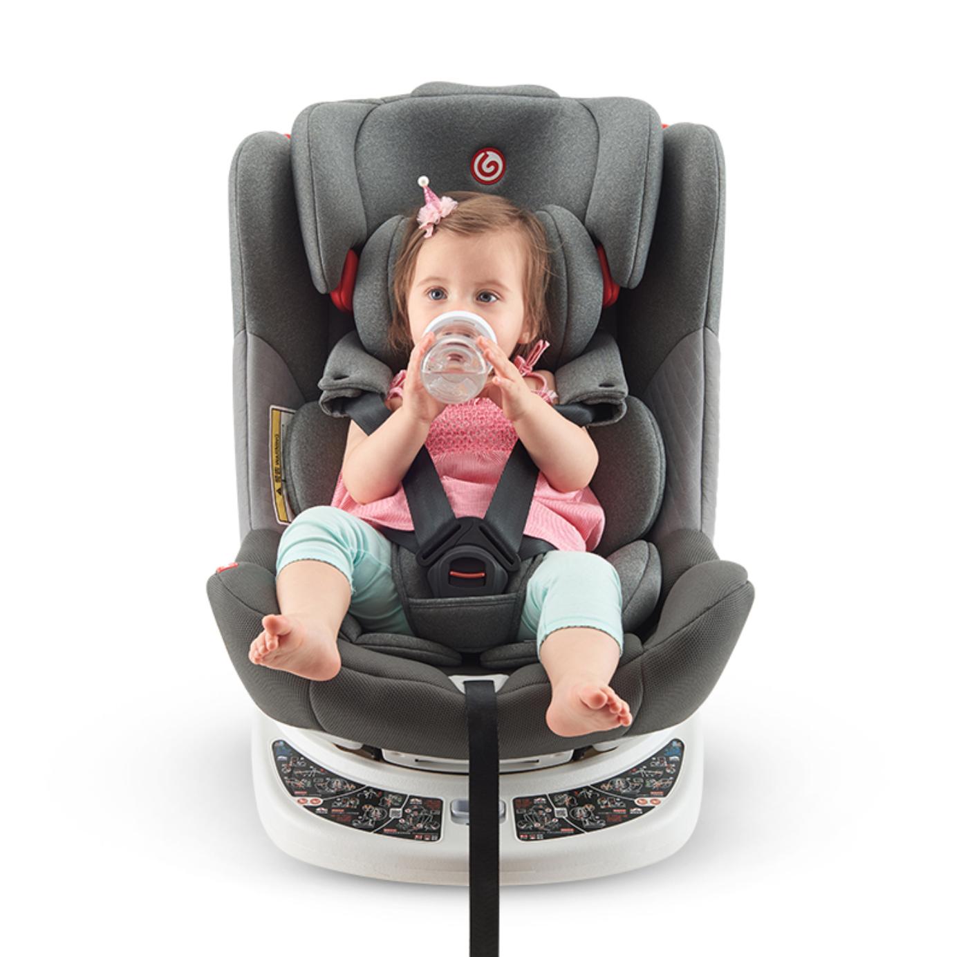 Ganen 感恩 X31-02 安全座椅 0-12岁 银河灰