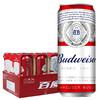 Budweiser 百威 淡色拉格啤酒 500ml*18罐